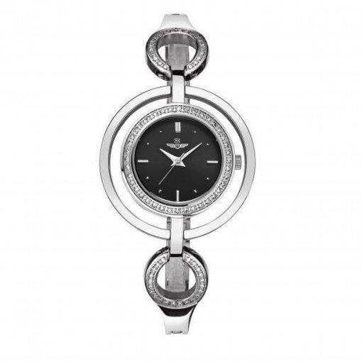 Đồng hồ nữ SRWATCH SL6654.1101 đen