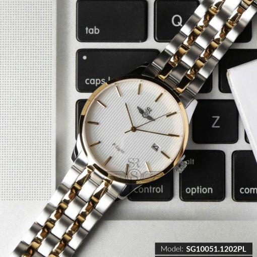 Đồng hồ nam SRWATCH SG10051.1202PL trắng-2