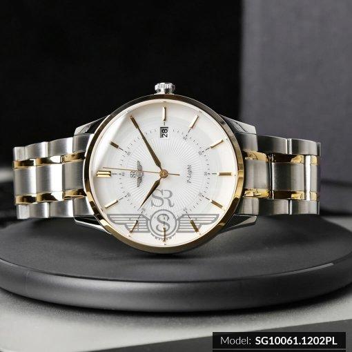 Đồng hồ nam SRWATCH SG10061.1202PL trắng-2