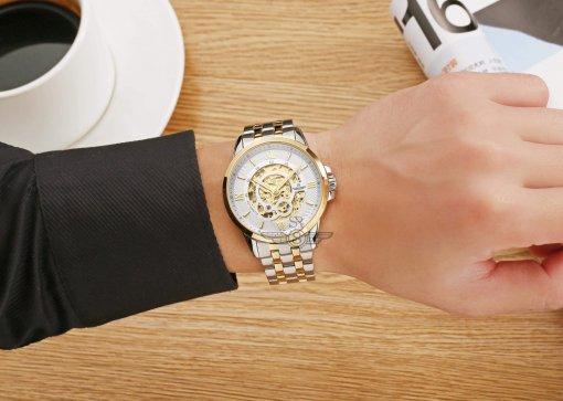 Đồng hồ nam SRWATCH SG8894.1202 trắng -3