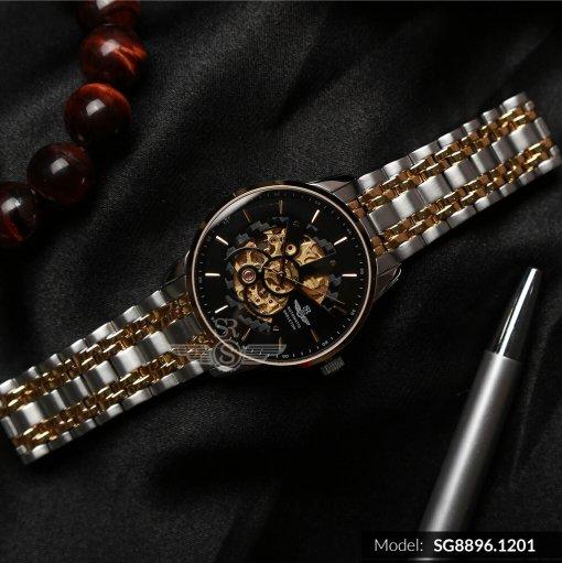 Đồng hồ nam SRWATCH SG8896.1201 đen-1