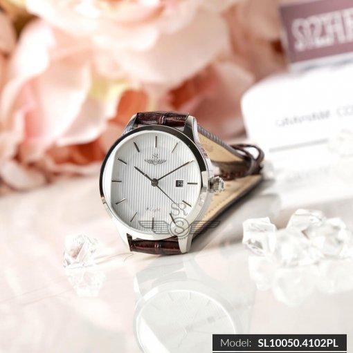 Đồng hồ nữ SRWATCH SL10050.4102PL trắng-1