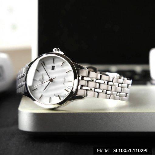 Đồng hồ nữ SRWATCH SL10051.1102PL trắng-1