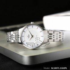 Đồng hồ nữ SRWATCH SL10071.1102PL trắng-2