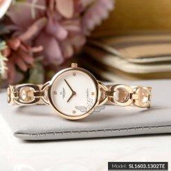 Đồng hồ nữ SRWATCH SL1603.1302TE TIMEPIECE trắng-1