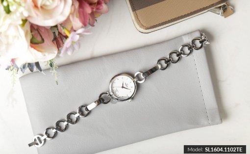 Đồng hồ nữ SRWATCH SL1604.1102TE TIMEPIECE trắng-2