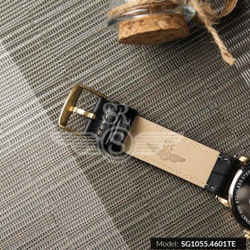 Đồng hồ nam SRWATCH SG1055.4601TE TIMEPIECE đen thương hiệu Nhật Bản