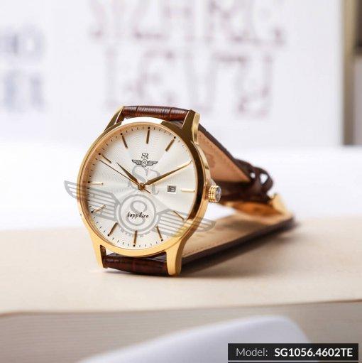 Đồng hồ nam SRWATCH SG1056.4602TE TIMEPIECE trắng cao cấp