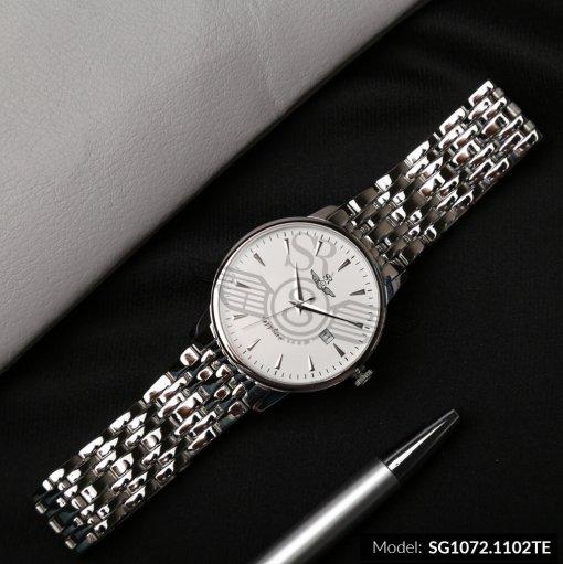 Đồng hồ nam SRWATCH SG1072.1102TE TIMEPIECE trắng sang trọng