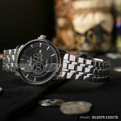 Đồng hồ nam SRWATCH SG1079.1101TE TIMEPIECE đen cao cấp