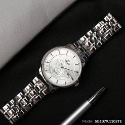 Đồng hồ nam SRWATCH SG1079.1102TE TIMEPIECE trắng cao cấp