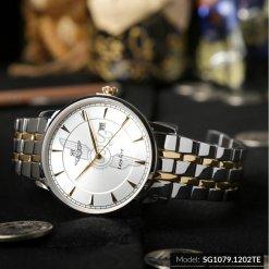 Đồng hồ nam SRWATCH SG1079.1202TE TIMEPIECE trắng cao cấp