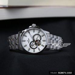 Đồng hồ nam SRWATCH SG8871.1102 trắng- 1