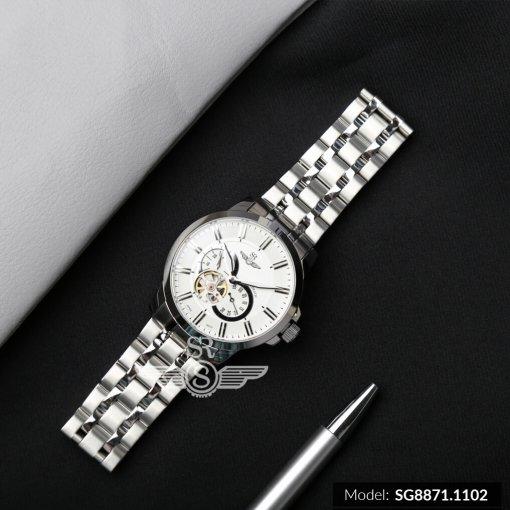 Đồng hồ nam SRWATCH SG8871.1102 trắng- 2