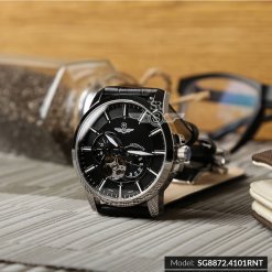 Đồng hồ nam SRWATCH SG8872.4101 đen - 2