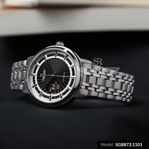 Đồng hồ nam SRWATCH SG8873.1101 đen - 2