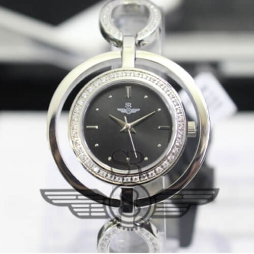 Đồng hồ nữ Srwatch SL6654-1101 đen cao cấp