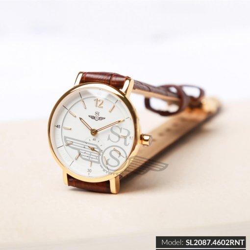 Đồng hồ nữ SRWATCH SL2087.4602RNT RENATA trắng giá tốt
