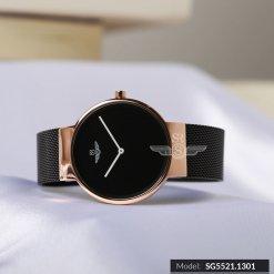 Đồng hồ nữ SRWATCH SL5521.1301 đen - 1