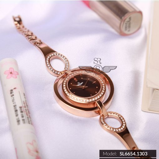 Đồng hồ nữ SRWATCH SL6654.1303 nâu - 2