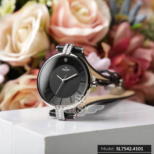 Đồng hồ nữ SRWATCH SL7542.4101 đen - 1