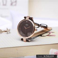 Đồng hồ nữ SRWATCH SL7542.6103 đen - 1