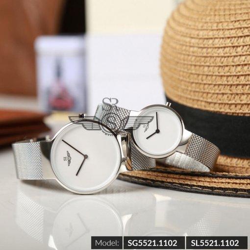 Đồng hồ nữ SRWATCH SL5521.1102 trắng - 1