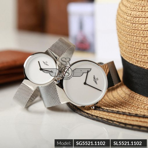 Đồng hồ nữ SRWATCH SL5521.1102 trắng - 2