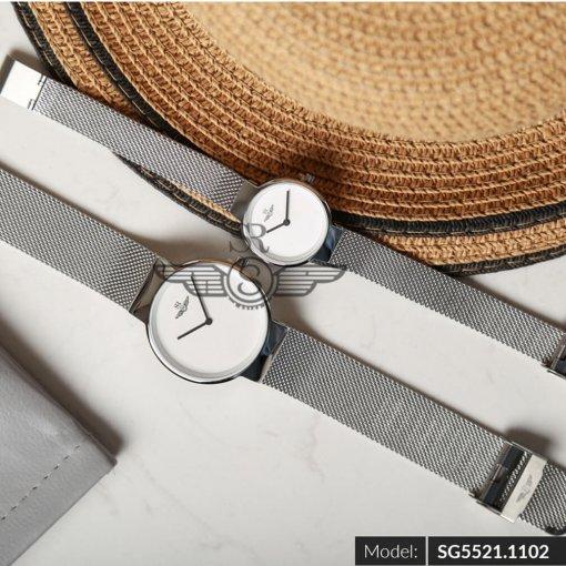 Đồng hồ nữ SRWATCH SL5521.1102 trắng - 3