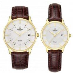 Đồng hồ cặp đôi SRWATCH SR10060.4602PL trắng