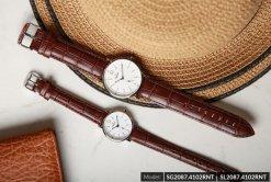Đồng hồ đôi SRWATCH SR2087.4102RNT trắng-1