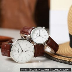 Đồng hồ đôi SRWATCH SR2087.4102RNT trắng-3