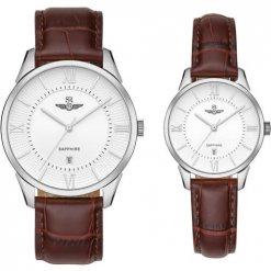 Đồng hồ cặp đôi SRWATCH SR80050.4102CF trắng