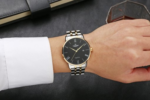 Đồng hồ nam SRWATCH SG1074.1201TE đen-3