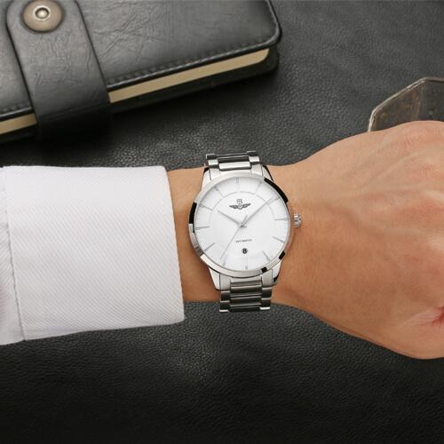 Đồng hồ nam SRWATCH SG8881.1102AT trắng-3