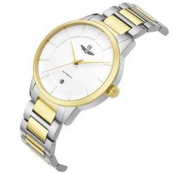 Đồng hồ nam SRWATCH SG8881.1202AT trắng-1