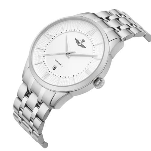 Đồng hồ nam SRWATCH SG8883.1102AT trắng-1