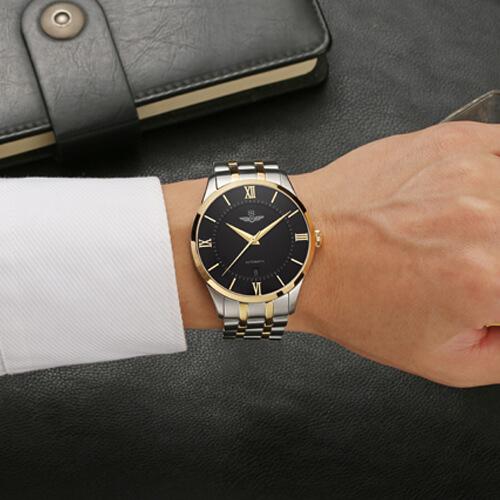Đồng hồ nam SRWATCH SG8883.1201AT đen-3