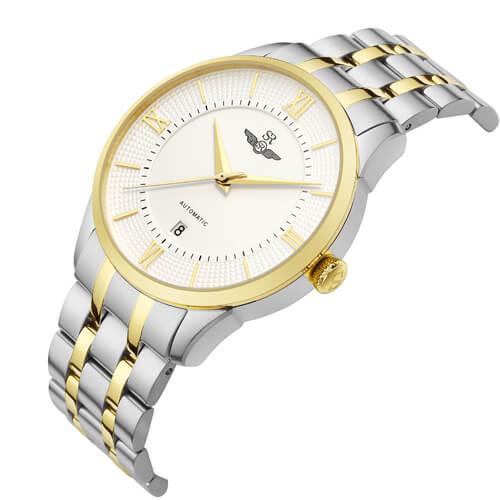 Đồng hồ nam SRWATCH SG8883.1202AT trắng-1