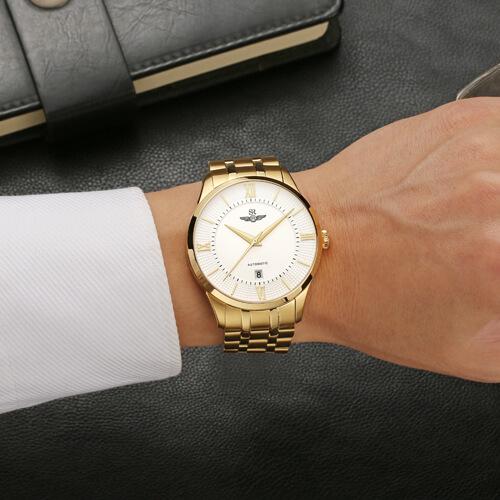 Đồng hồ nam SRWATCH SG8883.1402AT trắng-3
