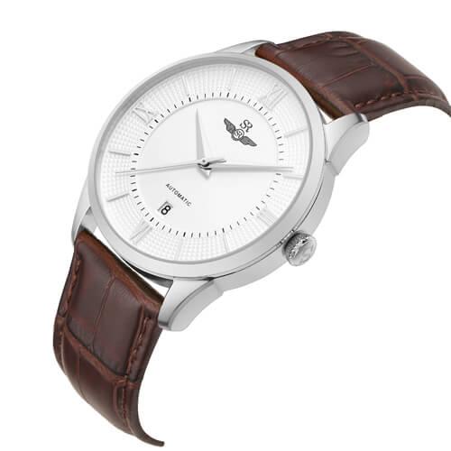 Đồng hồ nam SRWATCH SG8884.4102AT trắng-1