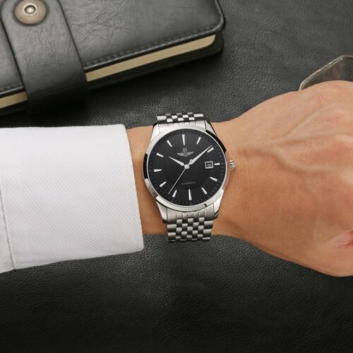 Đồng hồ nam SRWATCH SG8885.1101AT đen-3