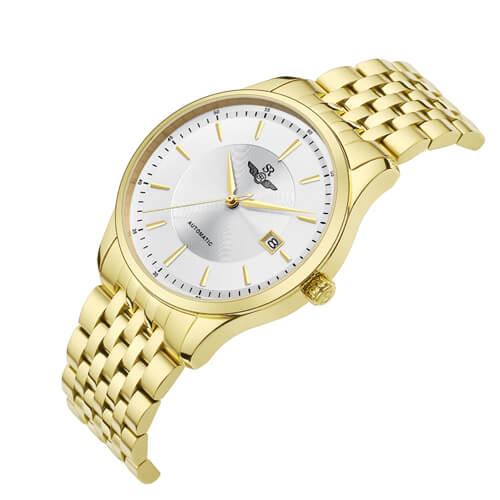 Đồng hồ nam SRWATCH SG8885.1402AT trắng-1