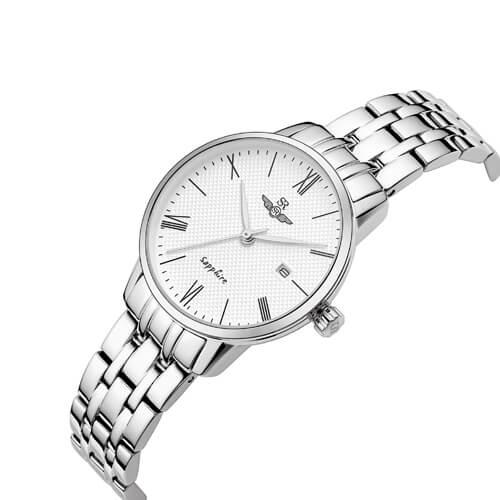 Đồng hồ nữ SRWATCH SL1074.1102TE trắng-1