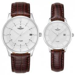 Đồng hồ cặp đôi SRWATCH SR10060.4102PL trắng